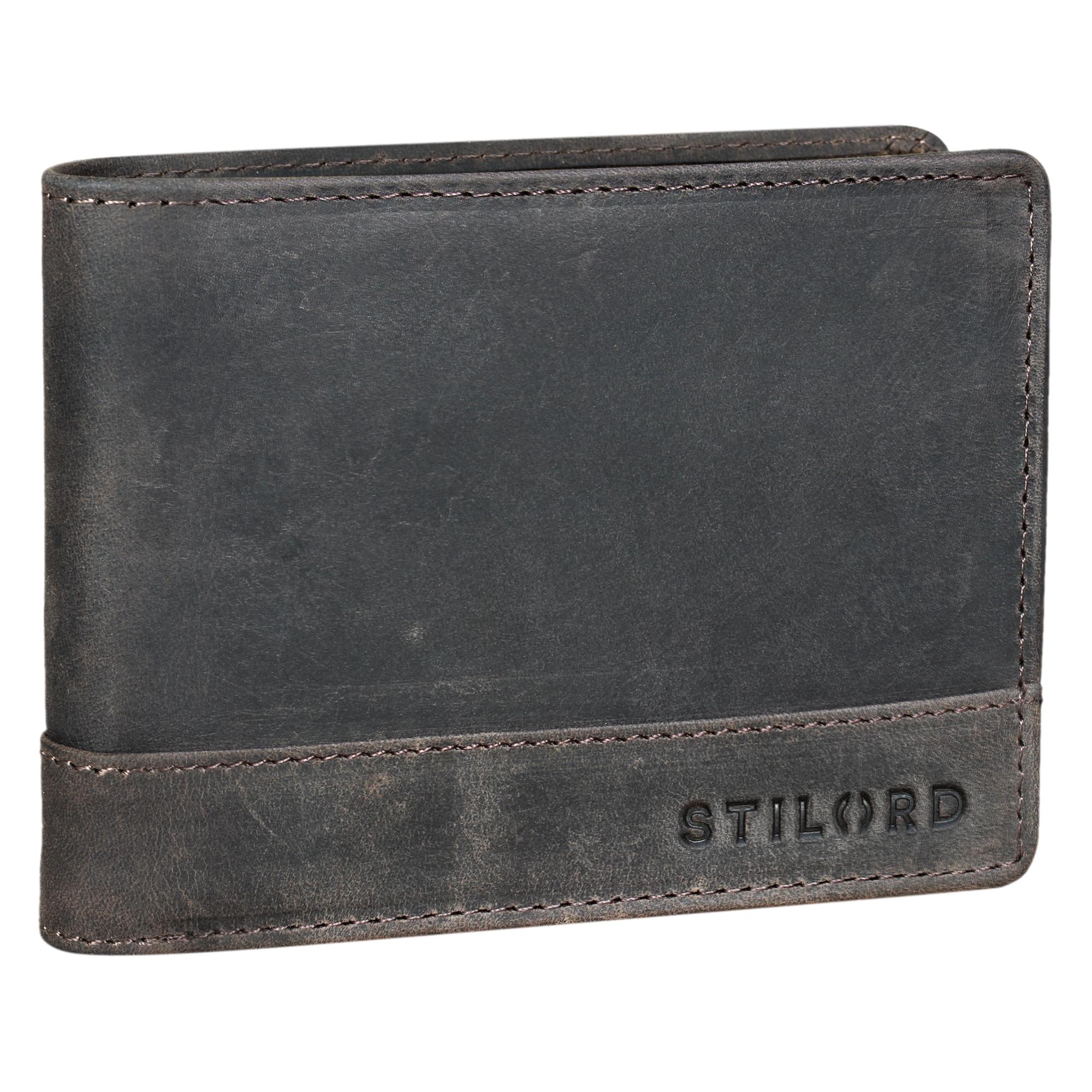 """STILORD """"Lucius"""" Vintage Portemonnaie Leder Herren Brieftasche Geldbörse Portmonee Geldbeutel Wallet Echtleder - Bild 13"""