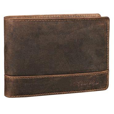 """STILORD """"Lucius"""" Vintage Portemonnaie Leder Herren Brieftasche Geldbörse Portmonee Geldbeutel Wallet Echtleder"""