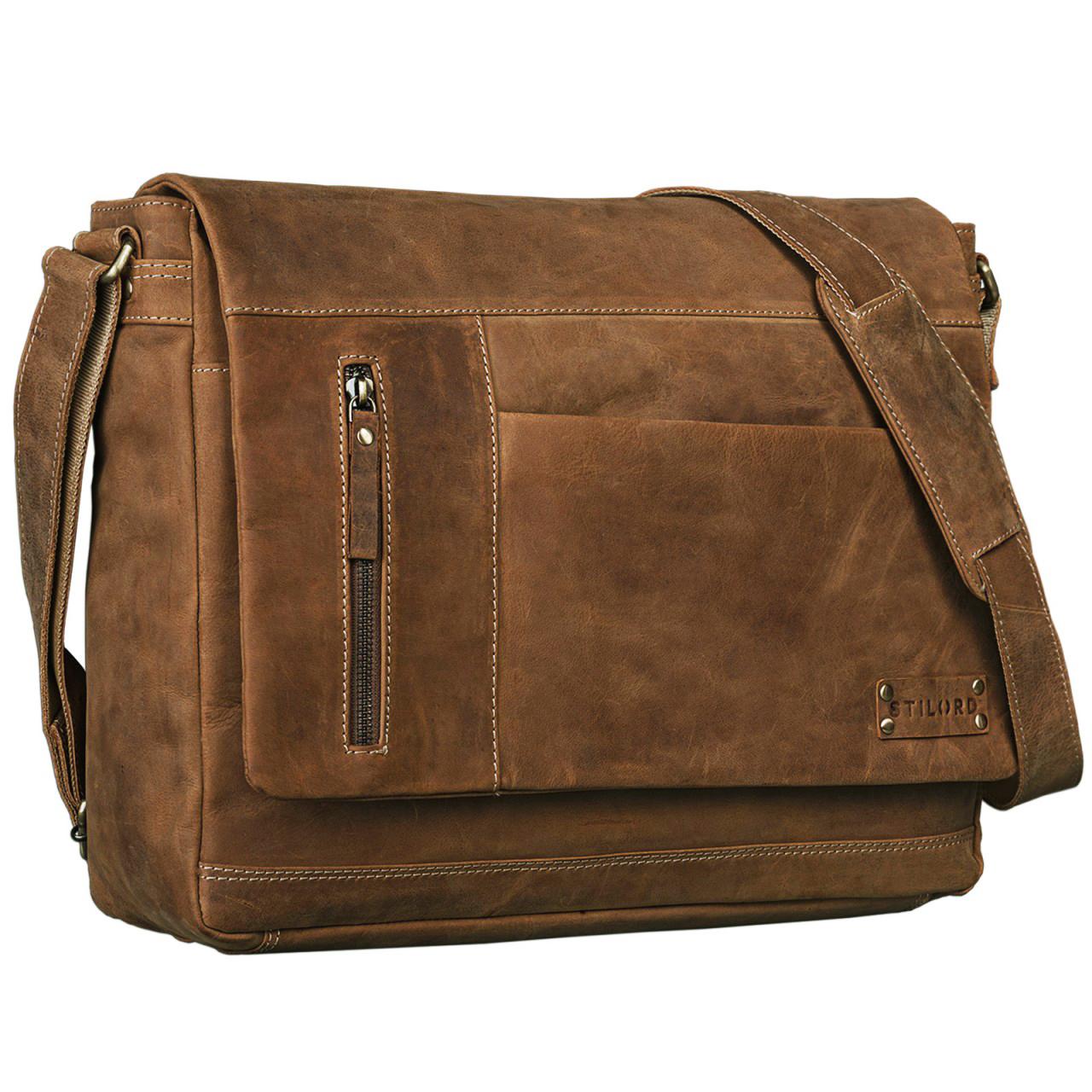 Vintagetasche Leder