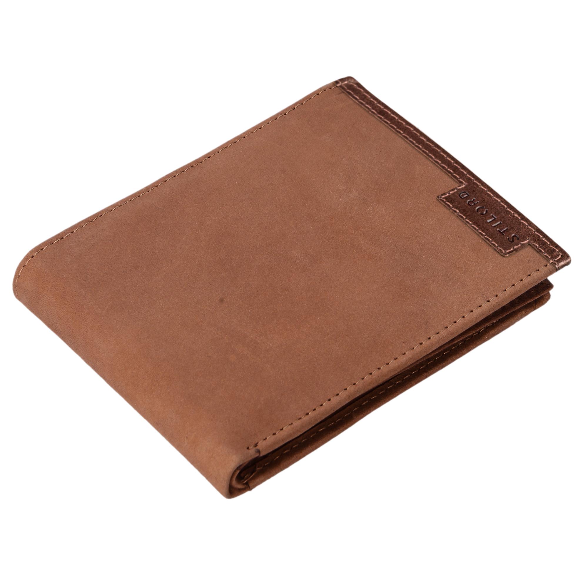 STILORD Vintage Herren Geldbörse / Portemonnaie aus hochwertigem Echt Leder, braun - Bild 7