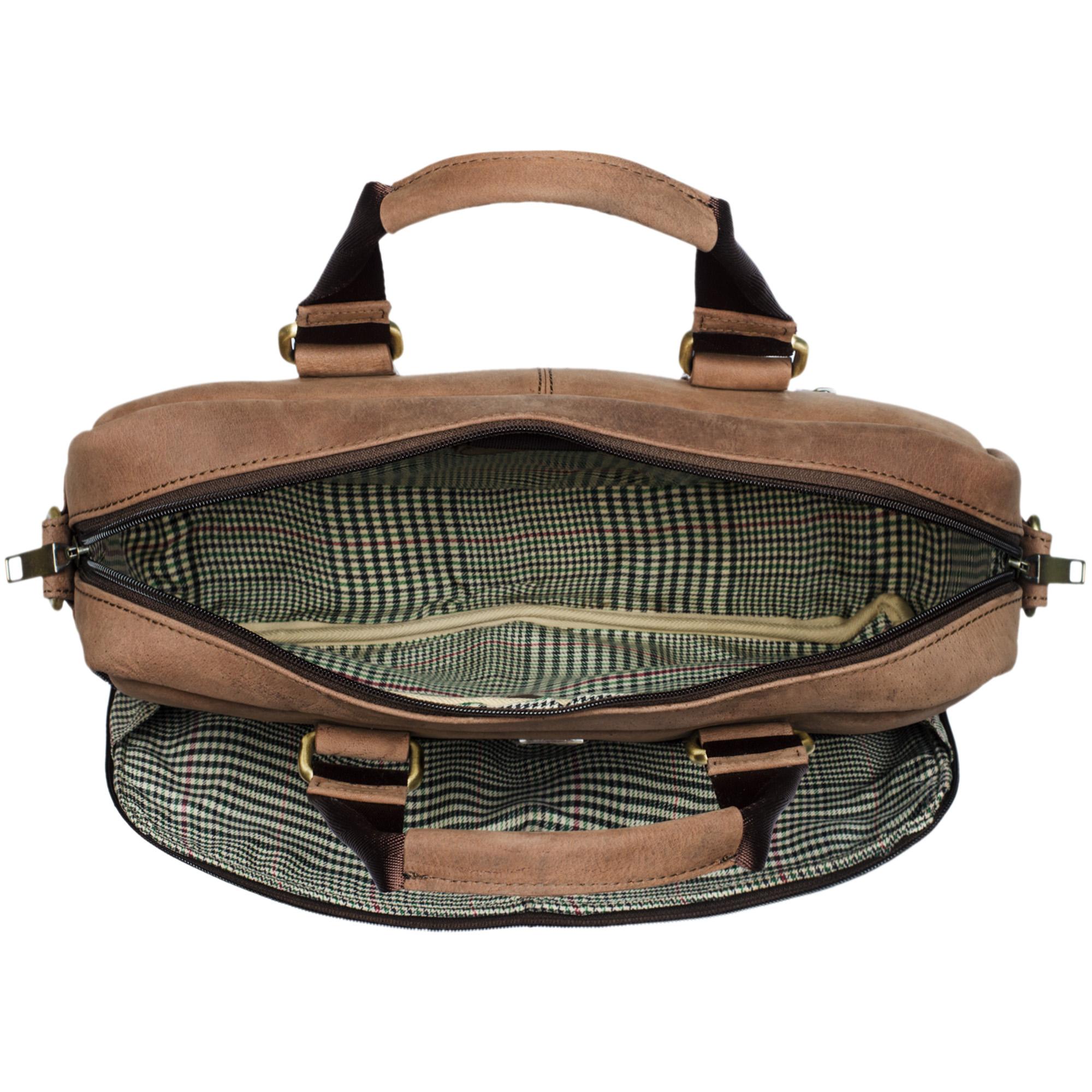 """STILORD """"Vito"""" Vintage Businesstasche Leder Herren Damen 14 Zoll Laptoptasche Umhängetasche Aktentasche Arbeitstasche Rindsleder - Bild 4"""