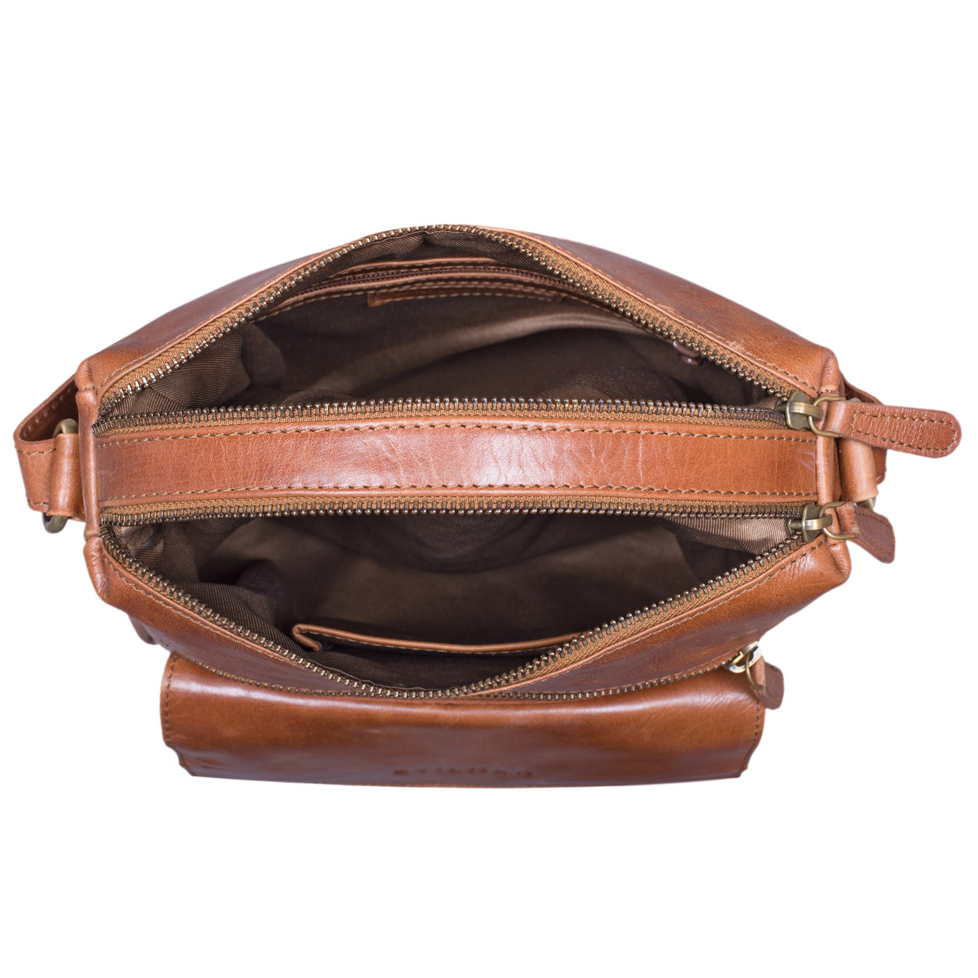 """STILORD """"Mira"""" Vintage Umhängetasche für Damen 12,2 Zoll Schultertasche Handtasche Ausgehen Freizeit Abendtasche Leder - Bild 13"""