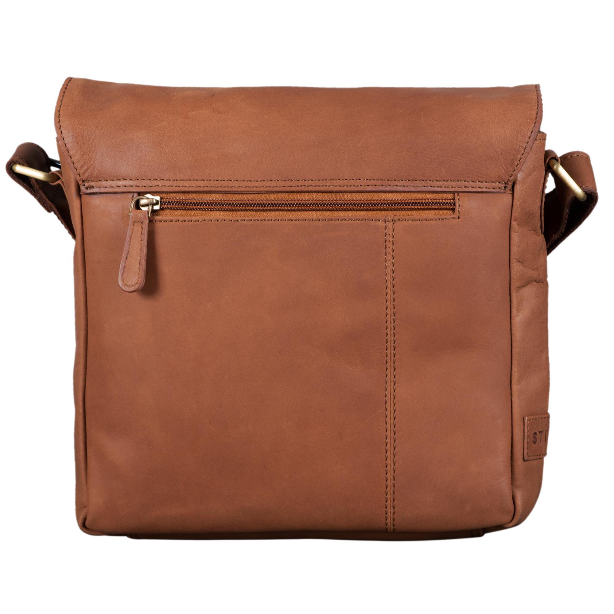 """STILORD """"Timo"""" Vintage Messenger Bag Leder klein für Herren und Damen moderne Umhängetasche für 10.1 Zoll Tablet iPad DIN A5 Cross Body Bag Echtleder - Bild 14"""