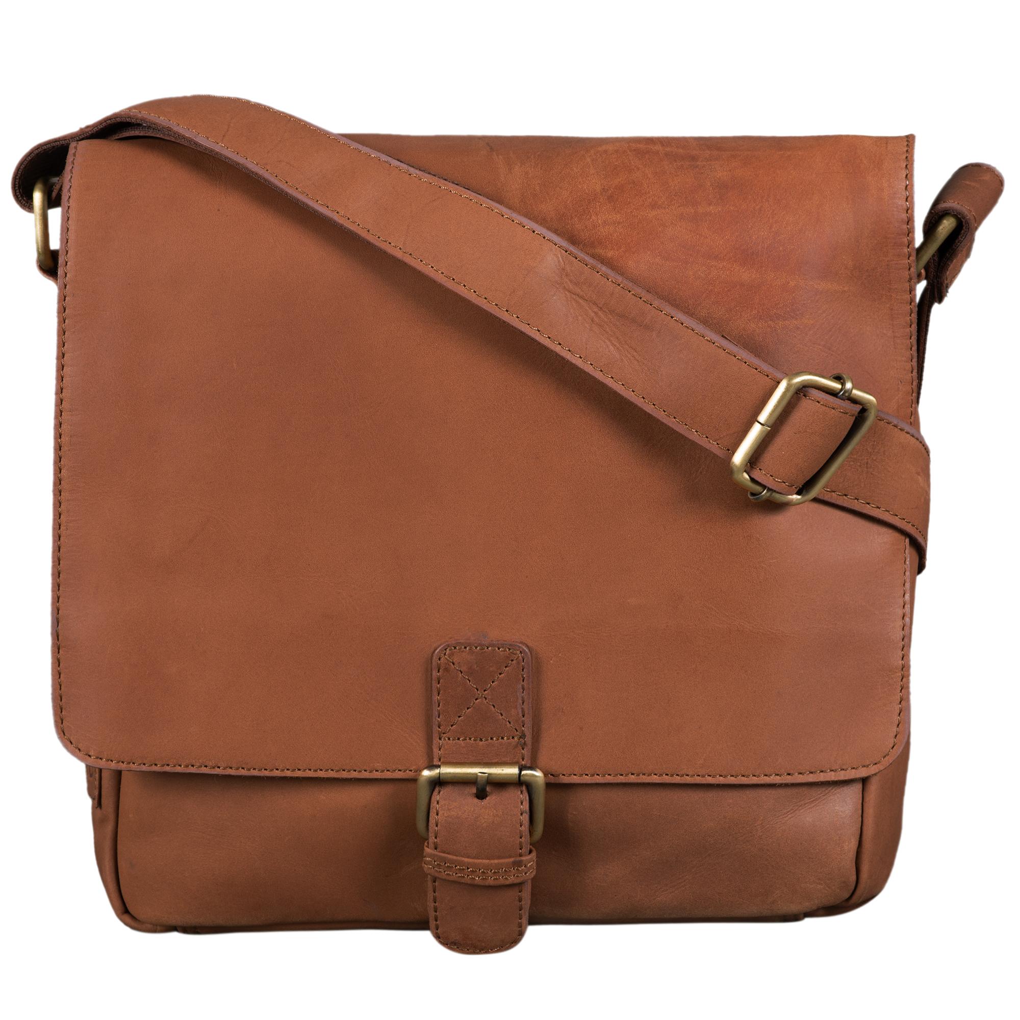 """STILORD """"Timo"""" Vintage Messenger Bag Leder klein für Herren und Damen moderne Umhängetasche für 10.1 Zoll Tablet iPad DIN A5 Cross Body Bag Echtleder - Bild 10"""