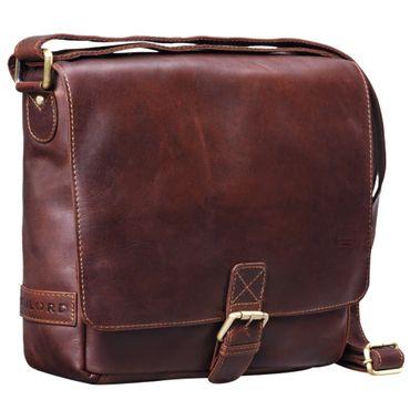 Leder Messenger Bag Herren klein