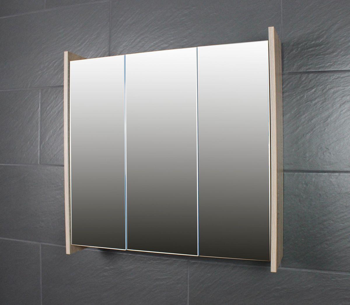 Spiegelschrank FROSTI 70 cm Sonoma Eiche Dunkel – Bild 1