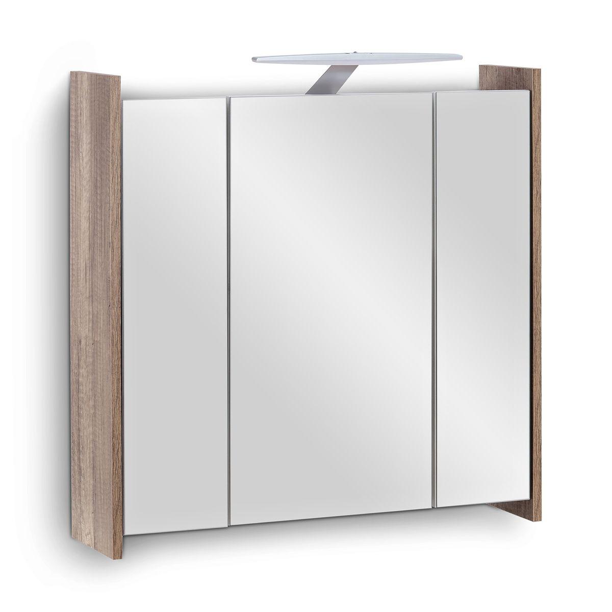 Galdem Spiegelschrank Elegance 70 cm mit Steckdose Monumental OAK
