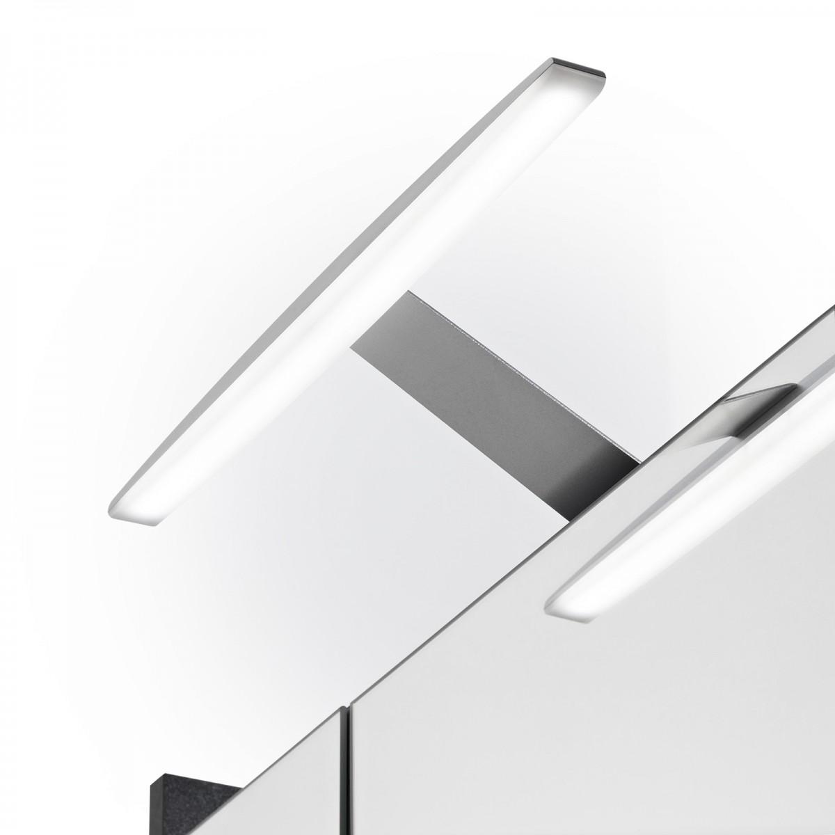 Spiegelschrank Elegance anthrazit mit LED Beleuchtung 70cm – Bild 6
