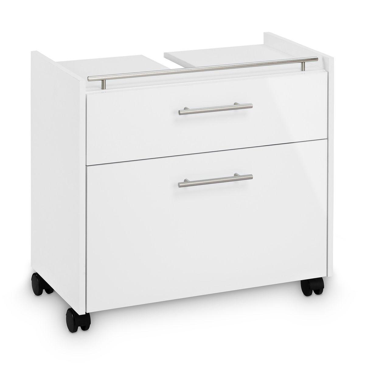 Badmöbel-Set FROSTI 2-teilig Weiß – Bild 5