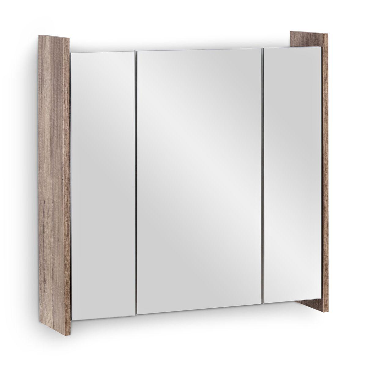 Badmöbel-Set FROSTI 2-teilig Monumental OAK Weiß – Bild 2