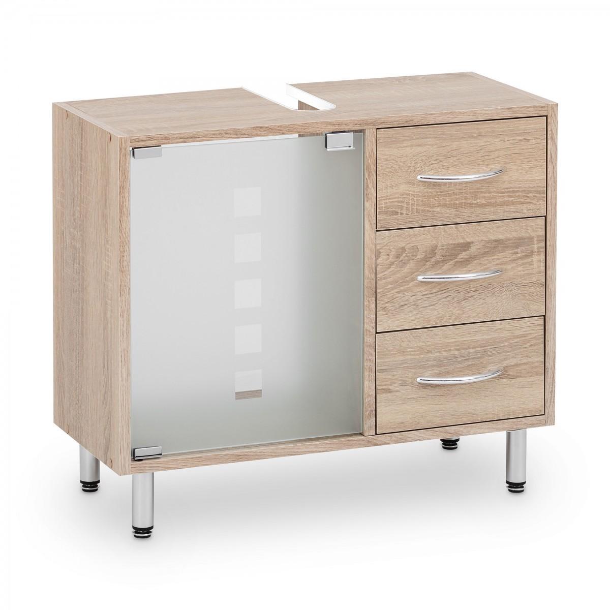 Galdem Spiegelschrank FROSTI mit Waschbeckenunterschrank Madison Sonoma OAK – Bild 5