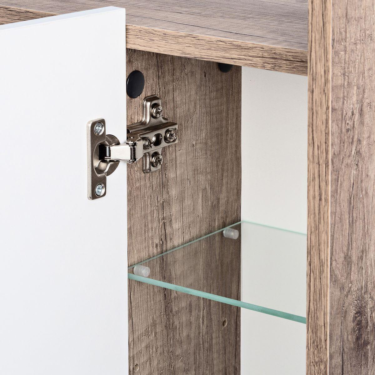 Galdem Spiegelschrank FROSTI mit Waschbeckenunterschrank Madison Monumental OAK – Bild 4