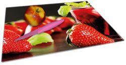 Glasunterlage Erdbeer-Mojito - Frische Erdbeeren – Bild 2