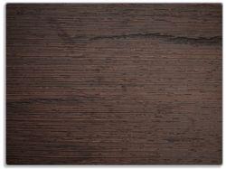 Glasunterlage Holz-Optik Textur dunkelbraunes Holz – Bild 1