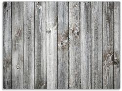 Glasunterlage Holz-Optik Textur hellgraues Holz Paneele Dielen mit Asteinschlüssen – Bild 1
