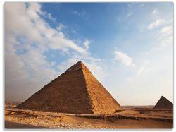 Glasunterlage Alte Pyramide in Ägypten – Bild 1