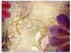 Glasunterlage Harmonien in pink – Bild 1