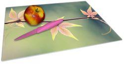 Glasunterlage Herbstblume – Bild 2