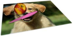 Glasunterlage Süßer Hund - Golden Retriever – Bild 2