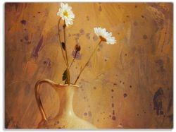 Glasunterlage Antike Vase mit Blumen – Bild 1