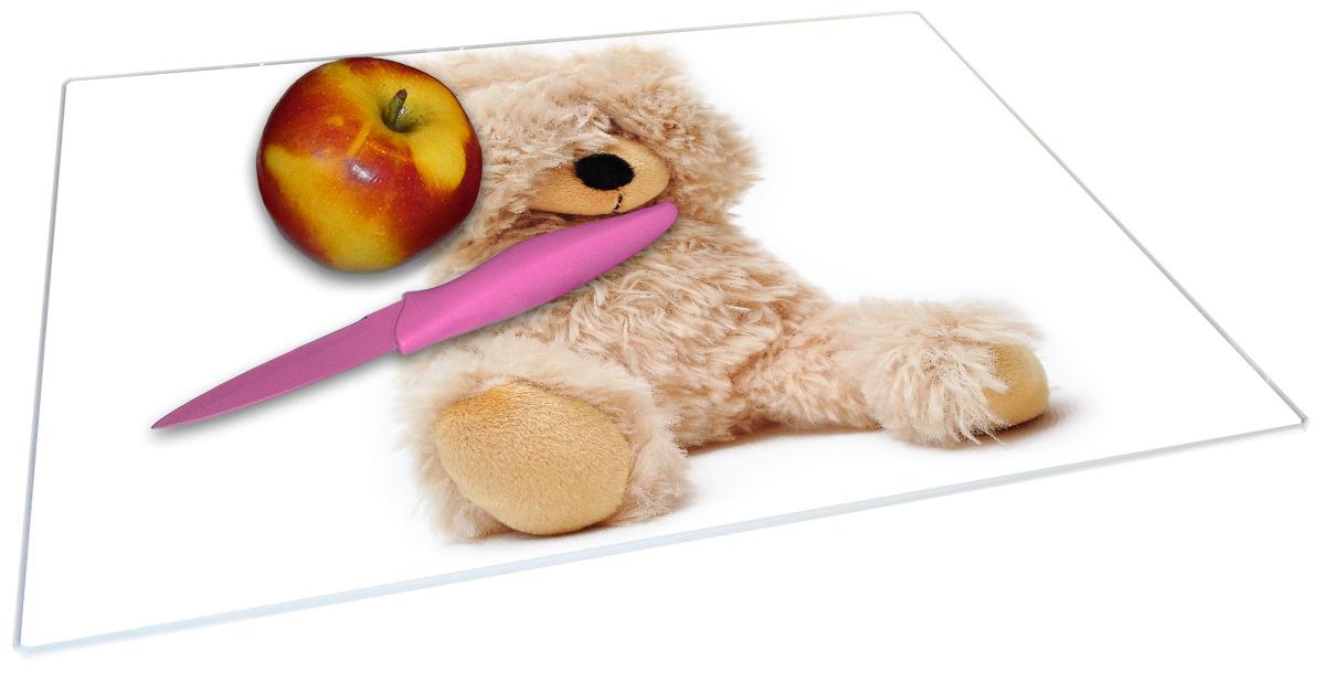 Glasunterlage Süßer Teddybär – Bild 2