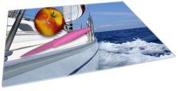 Glasunterlage Segelboot on Tour – Bild 2