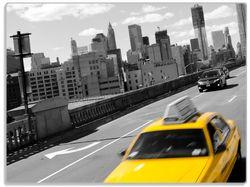 Glasunterlage New York Yellow Taxi II – Bild 1