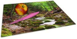 Glasunterlage Fluss im Wald – Bild 2