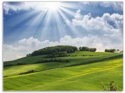 Glasunterlage Strahlender Sonnenschein – Bild 1