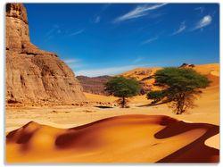 Glasunterlage In der Wüste Sahara – Bild 1