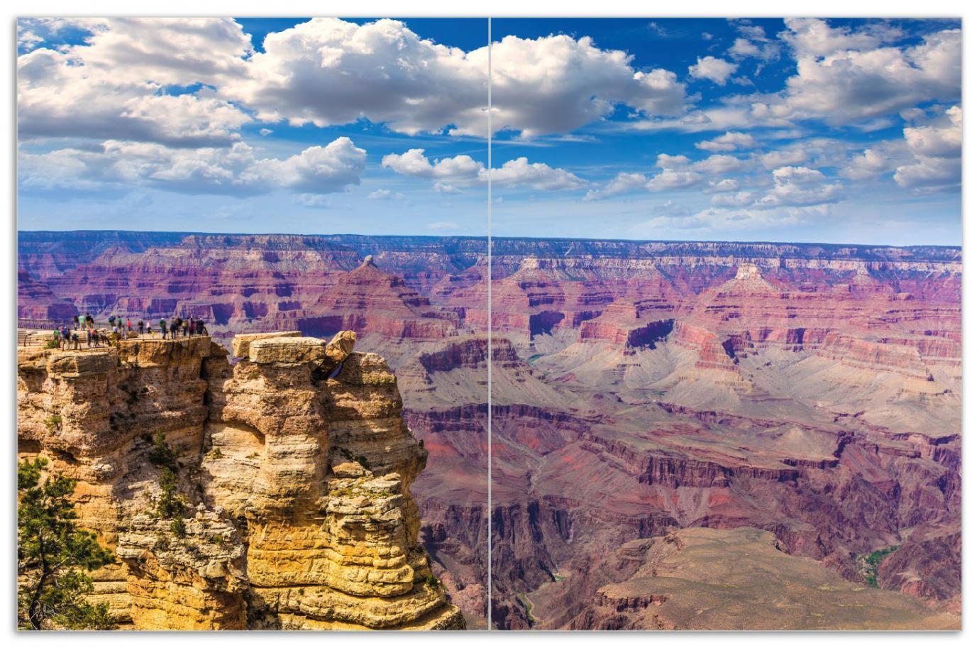 Herdabdeckplatte Felsenschlucht im Grand Canyon Park Arizona – Bild 1