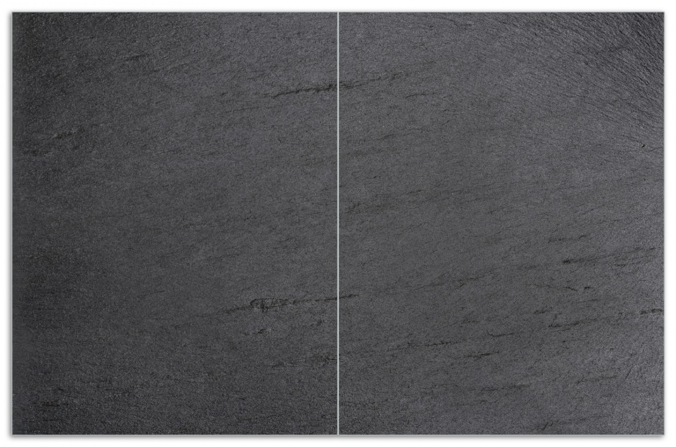 Herdabdeckplatte Schwarze Schiefertafel Optik – Steintafel [68/0, p9/2] – Bild 1