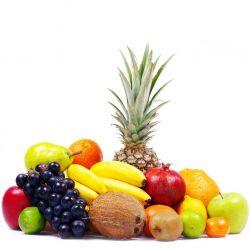 Möbelfolie Gemischtes Obst aus aller Welt - Exotische Obstsammlung – Bild 3