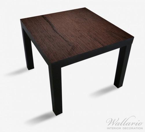 Möbelfolie Holz-Optik Textur dunkelbraunes Holz – Bild 1