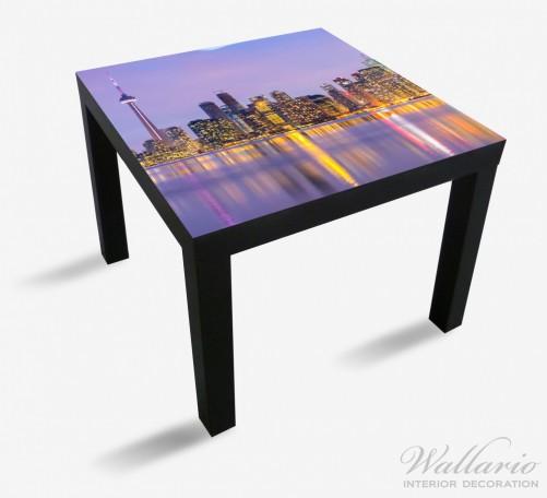 Möbelfolie Toronto Skyline - Kanada am Abend – Bild 1
