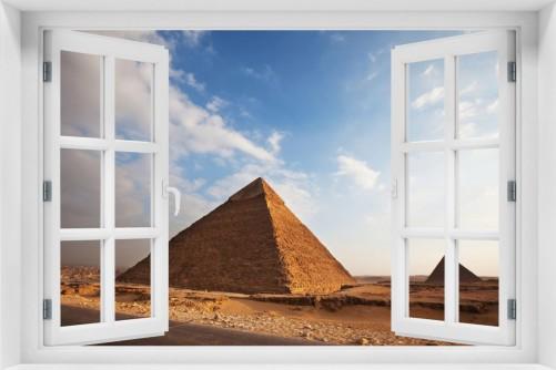 Acrylglasbild Alte Pyramide in Ägypten