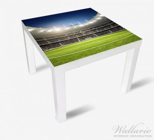 Möbelfolie Fußballstadion Mittellinie – Bild 2