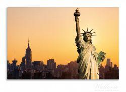 Herdabdeckplatte Freiheitsstatue New York