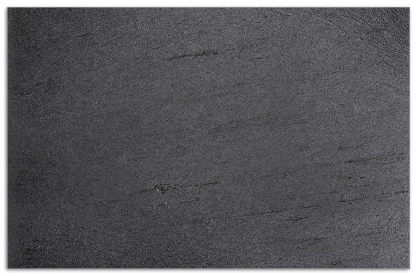 Herdabdeckplatte Schwarze Schiefertafel Optik – Steintafel – Bild 1