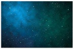 Herdabdeckplatte Sternenhimmel - Milchstraße und Sterne bei Nacht – Bild 1