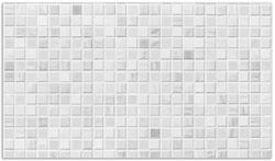Herdabdeckplatte Fliesen im Bad weiß-grau