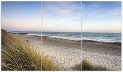 Herdabdeckplatte Strandspaziergang im Urlaub an der Ostsee – Bild 1