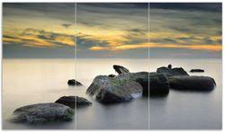 Herdabdeckplatte Mystische Felsen im Meer
