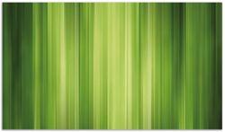 Herdabdeckplatte Grün und schwarz gestreift - Abstraktes Streifenmuster
