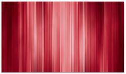 Herdabdeckplatte Rot und schwarz gestreift - Abstraktes Streifenmuster