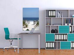 Wandbild Blick auf Strand – Bild 2