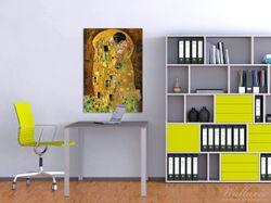 Wandbild Der Kuss von Klimt – Bild 2