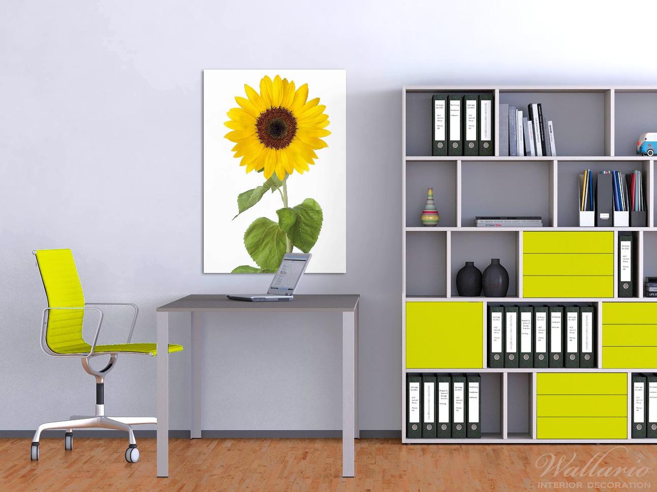 Wandbild Sonnenblume – Bild 2