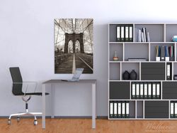 Wandbild Brooklyn Bridge in New York – Bild 2