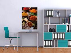 Wandbild Gewürze und Kräuter – Bild 2
